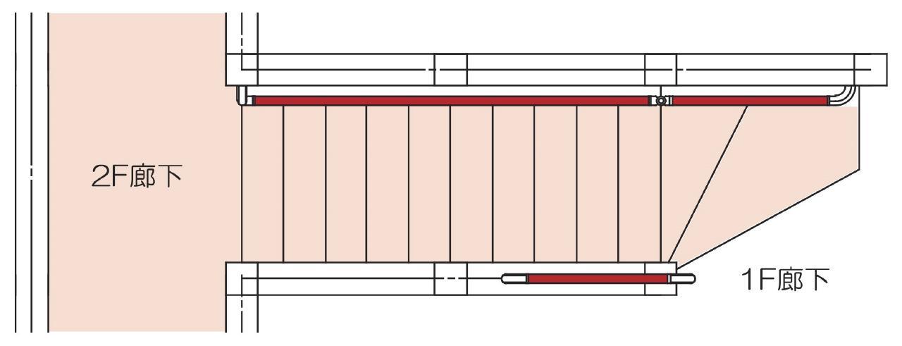 木製スロープ設置
