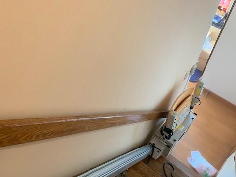 練馬区 M様邸 階段昇降機設置
